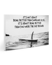 surfing better than day before pt phq-ntv Gallery Wrapped Canvas Prints tile