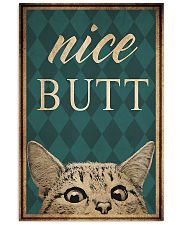 Cat Nice Butt 11x17 Poster front