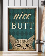 Cat Nice Butt 11x17 Poster lifestyle-poster-4