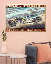 sport car vs air craft Choose ST Fun pt mttn-pml 36x24 Poster poster-landscape-36x24-lifestyle-18