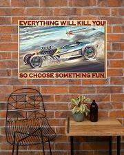 sport car vs air craft Choose ST Fun pt mttn-pml 36x24 Poster poster-landscape-36x24-lifestyle-20