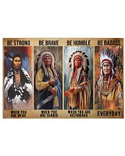 Native Strong Brave Humble PDN-PML 17x11 Poster front