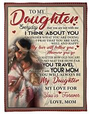 Native To My Daughter FLB PDN nna Fleece Blanket tile