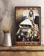 Drag Racing Choose ST Fun2 PDN-DQH 11x17 Poster lifestyle-poster-3