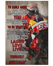 Motor Today Is A Good Day 93 24x36 Poster front