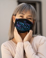 DD Chaotic Natural Cloth Face Mask - 3 Pack aos-face-mask-lifestyle-17