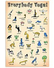 Yoga Everybody PDN cva  11x17 Poster front