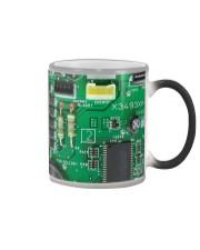 Electrician Board Color Changing Mug tile