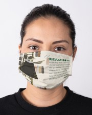 RB reading is the key mas lqt-pml  Cloth Face Mask - 3 Pack aos-face-mask-lifestyle-01