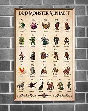 DD Monster Alphabel PDN- ntv  24x36 Poster poster-portrait-24x36-lifestyle-18