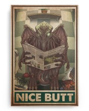 Cthulhu bathroom nice butt pt dvhh dqh 20x30 Gallery Wrapped Canvas Prints aos-canvas-pgw-20x30-ghosted-front-02