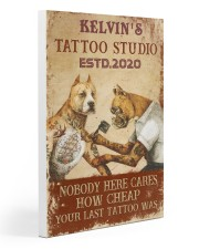 Tattoo Dog Your Last Tattoo PDN pml Gallery Wrapped Canvas Prints tile