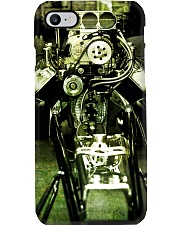 Hot Rod Engine PC Green 1 PDN Phone Case i-phone-8-case