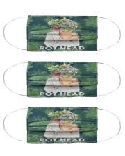 Gardening Pot Head mas Cloth Face Mask - 3 Pack front
