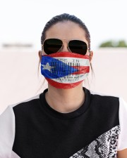 Puerto Rico Made In Code  Cloth Face Mask - 3 Pack aos-face-mask-lifestyle-02