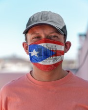 Puerto Rico Made In Code  Cloth Face Mask - 3 Pack aos-face-mask-lifestyle-06