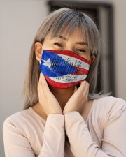 Puerto Rico Made In Code  Cloth Face Mask - 3 Pack aos-face-mask-lifestyle-17