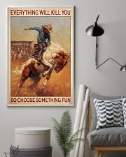 Rodeo choose st fun 11x17 Poster lifestyle-poster-1