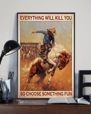 Rodeo choose st fun 11x17 Poster lifestyle-poster-2