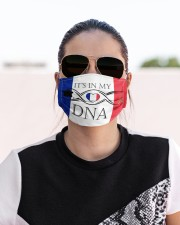 France in my DNA Cloth Face Mask - 3 Pack aos-face-mask-lifestyle-02