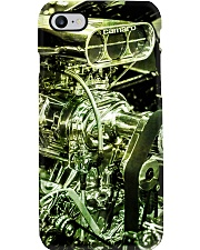 Drag racing Engine PC Green 2 PDN Phone Case i-phone-8-case