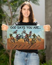 motocross god say you are nna 17x11 Poster poster-landscape-17x11-lifestyle-19
