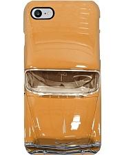 Car Chev 1956 Bel Air orange PDN- ntv Phone Case i-phone-8-case