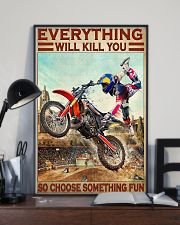 Motorcross Choose ST Fun 24x36 Poster lifestyle-poster-2