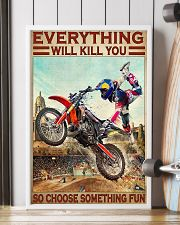 Motorcross Choose ST Fun 24x36 Poster lifestyle-poster-4