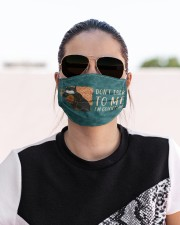 Yarn Don't Talk To Me Cloth Face Mask - 3 Pack aos-face-mask-lifestyle-02