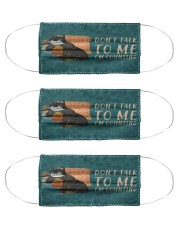 Yarn Don't Talk To Me Cloth Face Mask - 3 Pack front