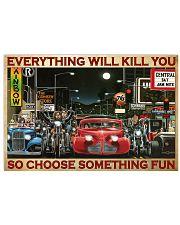 Hot Rod Vs Train ST Fun PDN 2-pml 17x11 Poster front