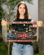 Hot Rod Vs Train ST Fun PDN 2-pml 17x11 Poster poster-landscape-17x11-lifestyle-19