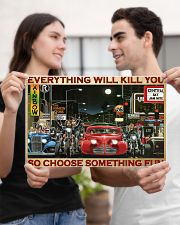 Hot Rod Vs Train ST Fun PDN 2-pml 17x11 Poster poster-landscape-17x11-lifestyle-20