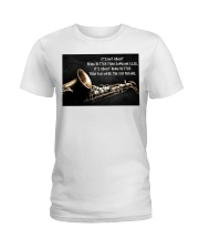 Saxophone Better Than You PDN ngt Ladies T-Shirt tile