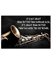 Saxophone Better Than You PDN ngt 17x11 Poster front