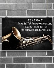 Saxophone Better Than You PDN ngt 17x11 Poster poster-landscape-17x11-lifestyle-18