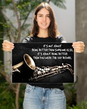 Saxophone Better Than You PDN ngt 17x11 Poster poster-landscape-17x11-lifestyle-19