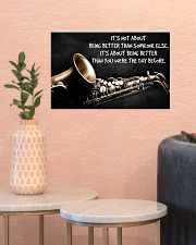 Saxophone Better Than You PDN ngt 17x11 Poster poster-landscape-17x11-lifestyle-21