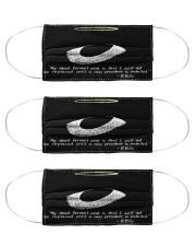 RB my most fervent mas lqt-pml  Cloth Face Mask - 3 Pack front