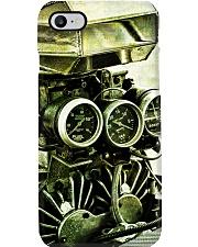 Hot Rod Engine PC Green 2 PDN Phone Case i-phone-8-case