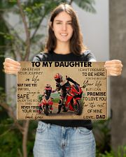 Motocycle To My Daughter PDN ngt  17x11 Poster poster-landscape-17x11-lifestyle-19