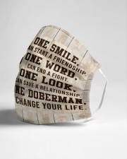 Doberman One Smile Msk Cloth Face Mask - 3 Pack aos-face-mask-lifestyle-21