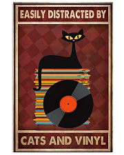 Cat Vinyl Easily Distracted PDN-pml 11x17 Poster front