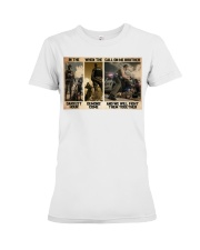 Police K9 Darkest Hour PDN-dqh Premium Fit Ladies Tee thumbnail