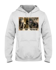 Police K9 Darkest Hour PDN-dqh Hooded Sweatshirt thumbnail