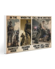 Police K9 Darkest Hour PDN-dqh Gallery Wrapped Canvas Prints tile