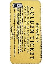Flm Golden Ticket PDN-NTH Phone Case i-phone-8-case