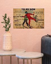 Skiing To My Son PDN ngt 17x11 Poster poster-landscape-17x11-lifestyle-21
