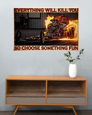 Drag Racing Choose ST Fun4 PDN-DQH  36x24 Poster poster-landscape-36x24-lifestyle-21